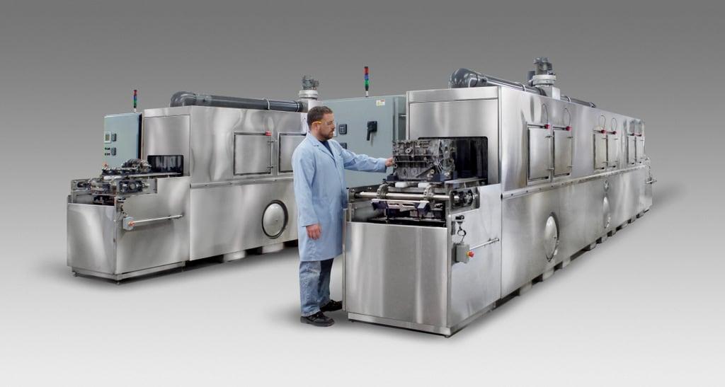 camshaft crankshaft engine block conveyor washers | Better Engineering